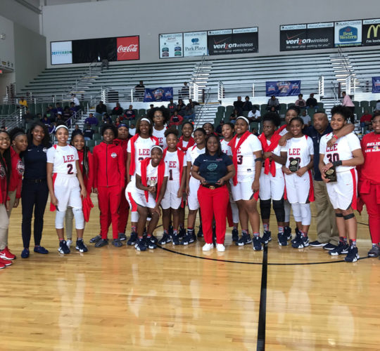 2019 Girls Gold Bracket Winner – Lee Magnet High School